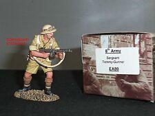 King and country EA80 8TH sargento Tommy artillero Metal Figura Soldado De Juguete