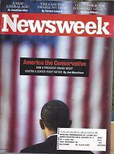 newsweek america the conservative magazine USED barack obama us president