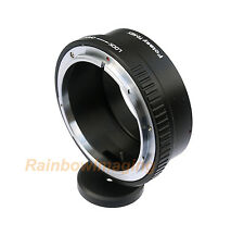 Canon FD Lens to Sony A6500 A6300 A6000 A3500 Adapter W/  Tripod Ring Mount