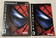 SPIDER-MAN Playstation 2 PS2 Replacemnt Case Cover Art Instructions NO GAME DISC