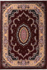 Decorative Floral Traditional Style Aubusson Turkish Oriental Area Rug 7'x10'