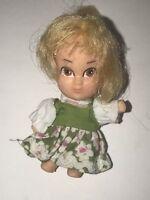 Vintage 1967 Liddle Kiddles HASBRO STORYKINS GOLDILOCKS Doll Printing Error