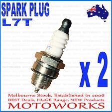 2 x L7T Spark Plug 47cc 49cc Mini PIT Pocket Scooter Quad Dirt Bike ATV Gokart