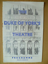 DUKE OF YORK'S THEATRE PROGRAMME First Perform 1958- BREATH OF SPRING by P Coke