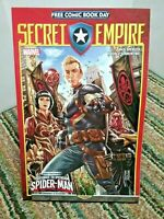 Secret Empire Comic Book Day Issue 2017 Marvel Spiderman