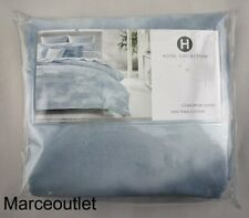 Hotel Collection Ethereal Pima Cotton King Duvet Cover Blue