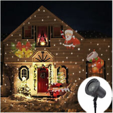 Indoor/Outdoor Christmas DEL Moving Light Projecteur Laser Jardin Fête d'Halloween