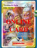 Guzma & Hala FA Cosmic Eclipse Pokemon TCG ONLINE Card PTCGO SENT FAST!!