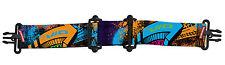 Virtue VIO Paintball/ Airsoft Mask/ Goggle Strap - Graffiti Orange/Purple/Cyan