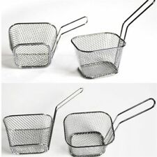 Fry Basket Strainer French Fries Basket Home Essential Kitchen Cooking Tool