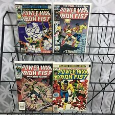 Power Man and Iron Fist 50 57 100 125 Lot Last Issue Luke Cage