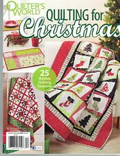 Quilting for Christmas 25 Holiday Patterns Cozy Quilts Trimmings Decor Gifts
