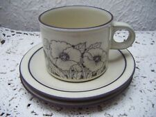 VINTAGE HORNSEA  CORNROSE - TEA (or COFFEE)  CUP and SAUCER (+ a spare saucer!)