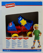 PLAYSKOOL 1992 FIRST ROLLERS MY FIRST SKATES SIZE 26-34 FOR YOUNG SKATERS MIP