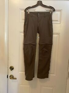 Columbia Omni Shield Advanced Repellency Dusty Brown Convertible Pant/Shorts 4