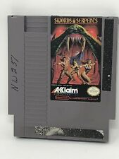 Swords and Serpents - (Nintendo NES) Cleaned, Tested, Authentic! Game w/Sleeve