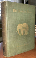 1894, THE JUNGLE BOOK, by RUDYARD KIPLING, FIRST AMERICAN EDITION, 18th THOUSAND