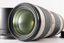 【TOP MINT】CANON EF 70-200mm F/4 L ZOOM AF Lens 1:4 +ET-74 Hood Caps From JAPAN
