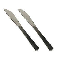 50 Messer PS metallisiert 20 cm silber Einwegmesser Einwegbesteck Plastikmesser