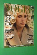 VOGUE ITALIA 1995 settembre 541 AMBER VALLETTA HELENA CHRISTENSEN EVA HERZIGOVA