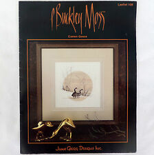 P Buckley Moss Cameo Geese Cross Stitch Pattern Leaflet 108