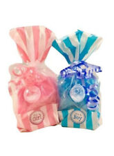 (2) Baby Shower Bath Salt Gift Bags (Choose Your Scents / Colors / Bag Type)