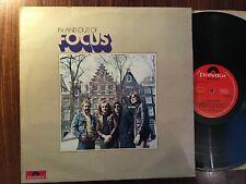 Focus In And Out Of Focus Vinyl UK 1973 Polydor A1/B2 Matrix LP Jan Akkerman