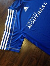 Authentic Adidas Montreal Impact Training Reserve Soccer Jersey Size Small MLS