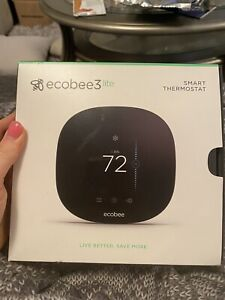 ecobee 3 Smart Thermostat - Black