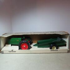 Scale Models Oliver 70 Tractor w/Manure Spreader Set made USA 1/16 OL-FU0622-B
