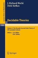 Decidable Theories: Vol. 2: The Monadic Second Order Theory of All Countable Ord