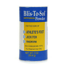 Blis-to-Sol Antifungal Powder 2 oz (60 gm) Oakhurst p/n 20051 New O.E.M.