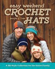 Easy Weekend Crochet Hats: A Ski-Style Collection for the En