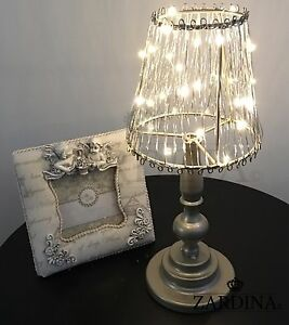 Romantic Quirky Shade LED Lamp