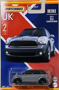 Matchbox UK 2011 Mini Countryman grey