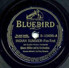 Indian Summer / Farewell Blues Glenn Miller & His Orch. 78 RPM