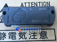1PCS STK433-130 Encapsulation:SIP-ZIP,AF Power Amplifier 5W + 5W min, THD =