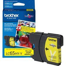 Genuine Brother LC65 LC65HY-Y Yellow Ink Cartridge (BRTLC65HYY)