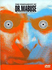 Dr. Mabuse / Fritz Lang, Rudolf Klein-Rogge, Otto Wernicke (1933) - DVD new