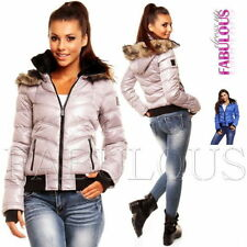 Polyester Winter Casual Solid Coats & Jackets for Women