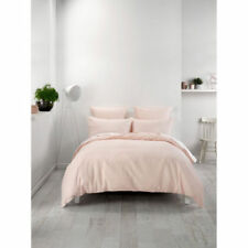 Linen House Patternless 100% Cotton Quilt Covers