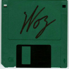 Steve Woz Wozniak SIGNED Vintage High Density Disk Apple Co-Founder AUTOGRAPHED