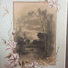 Rare Large W. Hagelberg Window Card