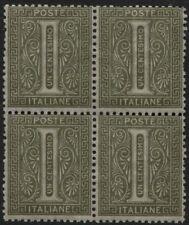 Regno - 1863/65 - Vittorio Emanuele II - 1 cent. verde oliva - MNH - Sassone T14