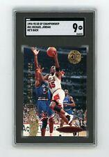 SGC 9 — 1994-95 Upper Deck SP Championship Michael Jordan #41 — He's Back