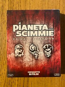IL PIANETA DELLE SCIMMIE Primal Collection cofanetto 8 film blu ray Nuovo