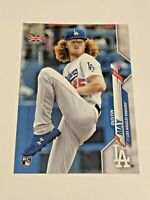 2020 Topps Baseball UK Edition Rookie - Dustin May RC - Los Angeles Dodgers
