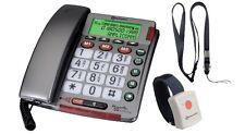 TELEFONO A FILO CON TELECOMANDO SOS AMPLICOMMS AP.3806.00 GBC