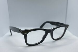 Ray Ban Wayfarer RB 5121 2000 Men Women Eyeglasses Optical Frame Black O2