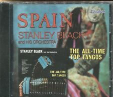 STANLEY BLACK - THE ALL TIME TOP TANGOS & SPAIN - CD